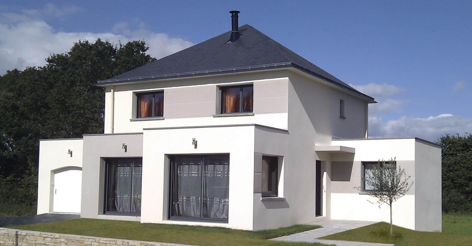 Construction de maisons individuelles traditionnelles for Construction de maisons individuelles